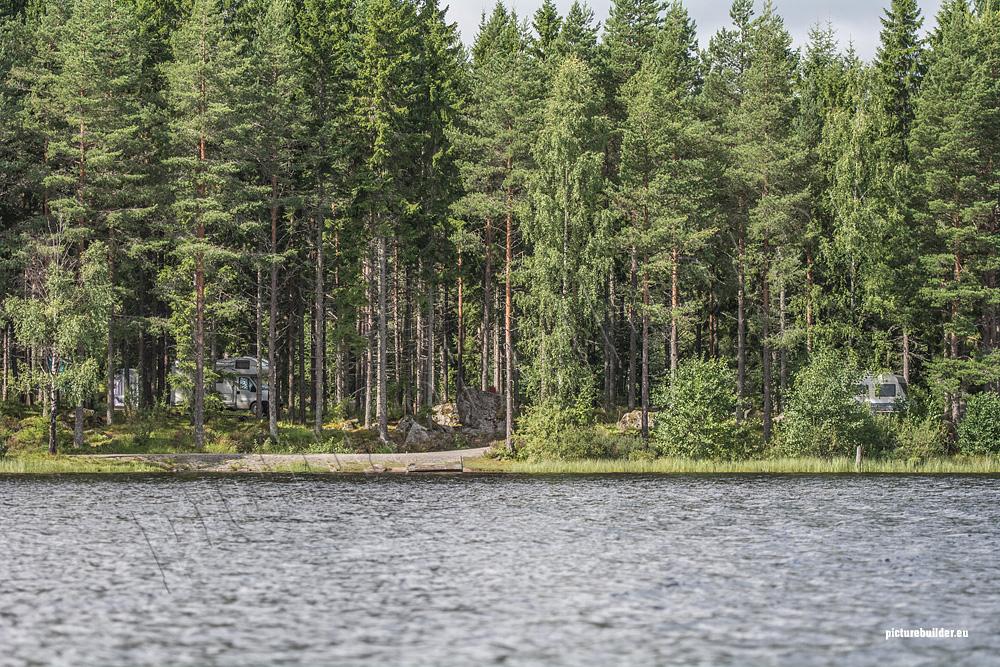 Övre Gla im Glaskogens Naturreservat