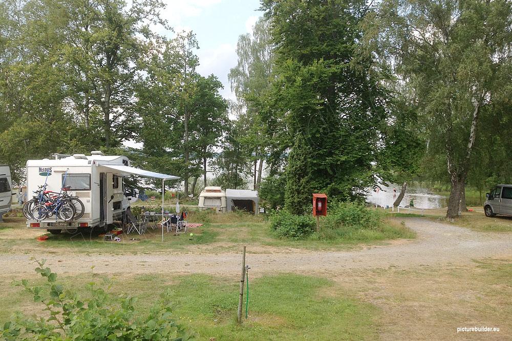 Campingplatz in Småland