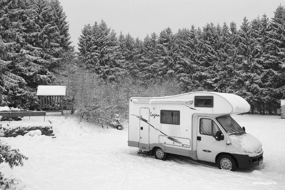 Braunlage – Winter (Wohnmobilstellplatz Update)