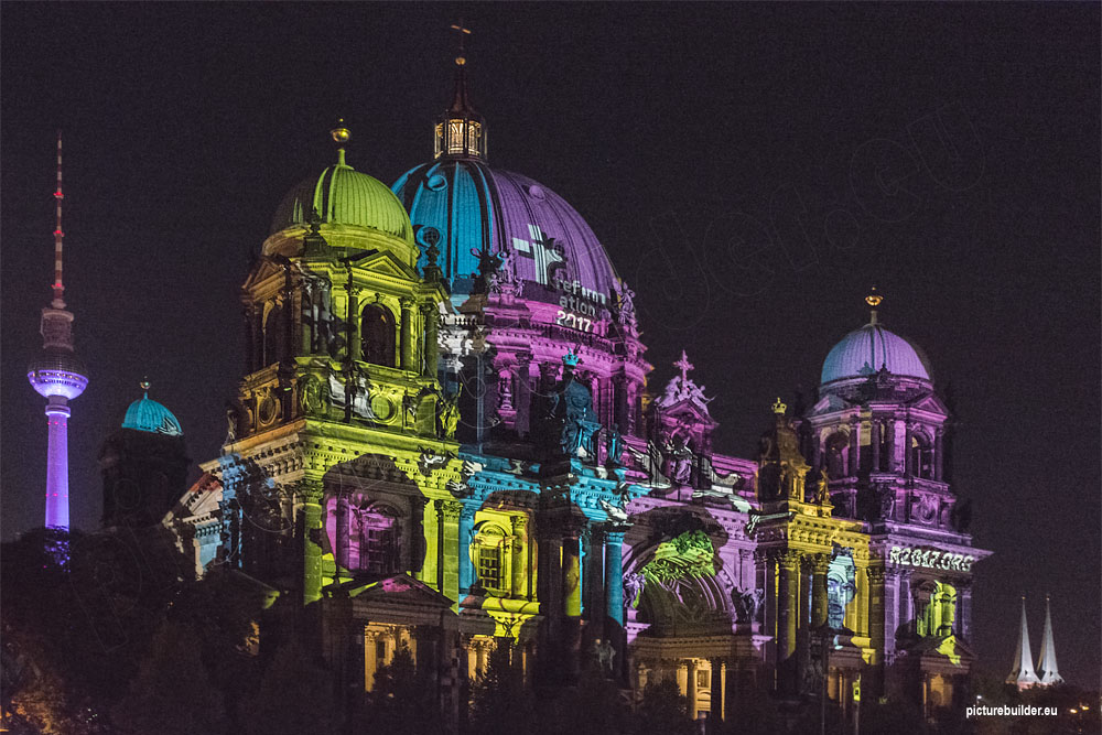 Festival of Light in Berlin