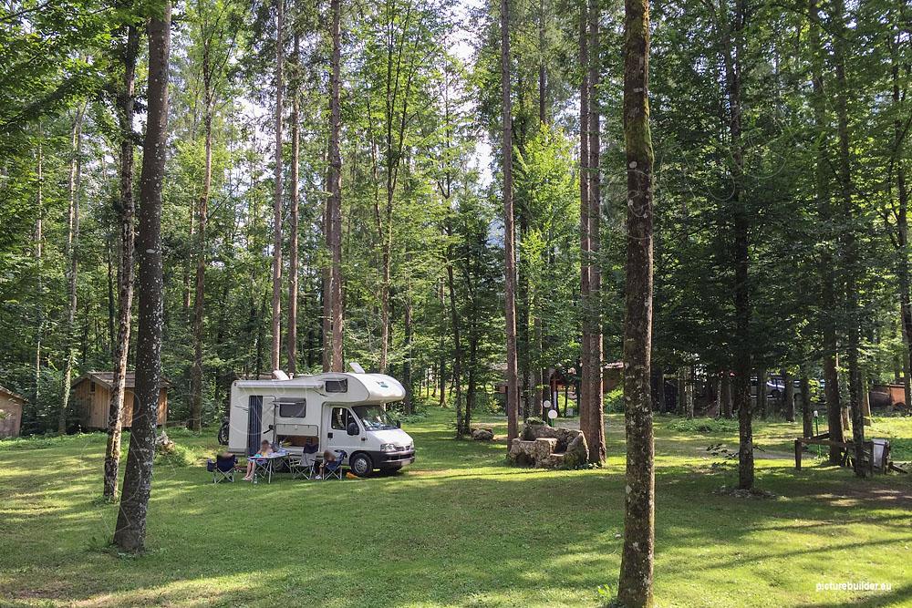 Kamp Alpe und die Velika-Planina