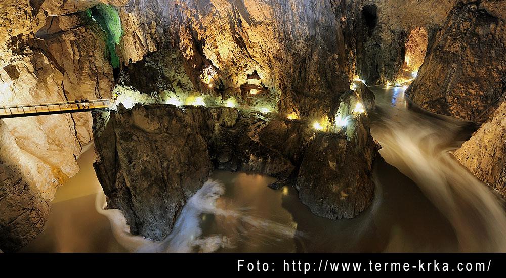 Die Höhlen von Skocjan und Dujceva