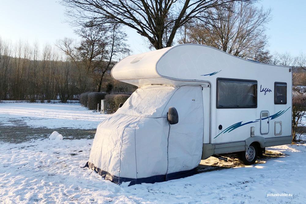 Wintercamping in Bischofsheim / Rhön