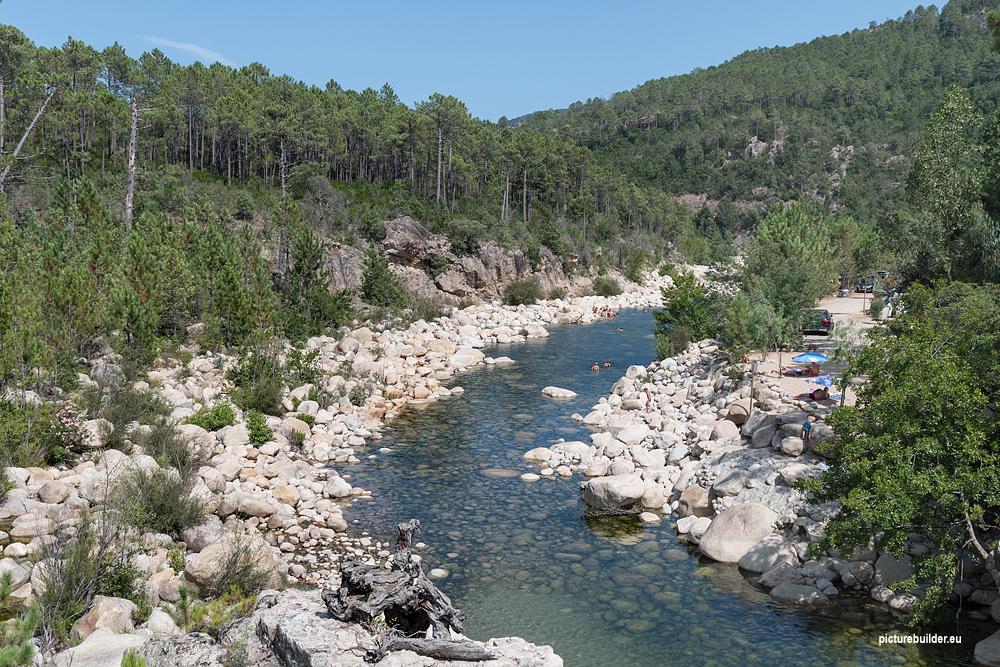 Die Gumpen von Korsika