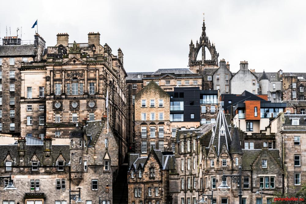 Edinburgh mit dem Wohnmobil