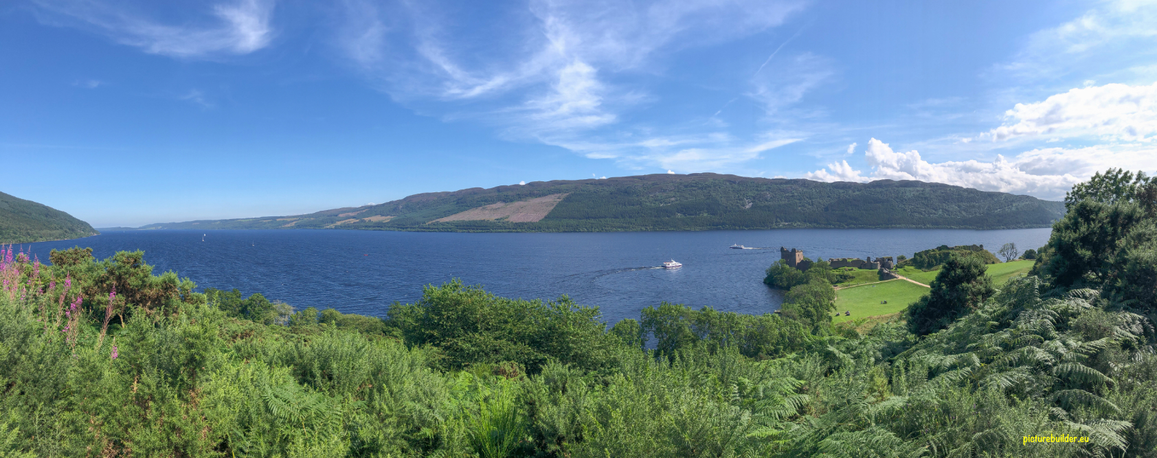 Drumnatrochit am Loch Ness