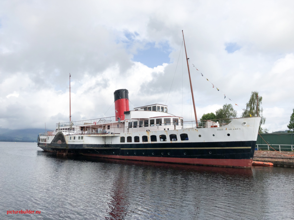 Loch Lomond mit dem Wohnmobil